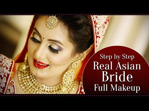 Real Bridal Step by Step Makeup Tutorial