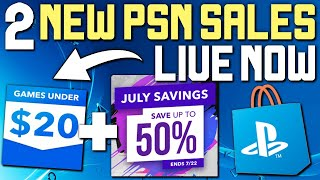 2 NEW PSN SALES LIVE RIGHT NOW - HUNDREDS OF PS4 GAME DEALS!