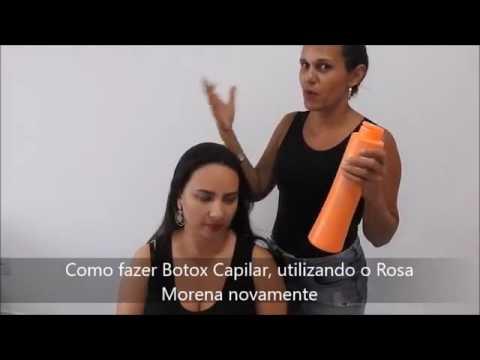 Como Fazer Progressiva E Botox Capilar Com Rosa Morena