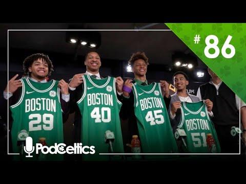 PodCeltics #86 (26/jun): Draft E Free Agency (com @CeltaoBrasil E @oJotaPlays)