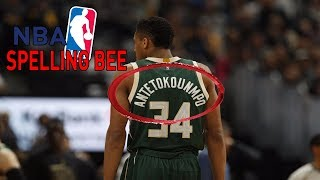 The OFFICIAL NBA Spelling Bee