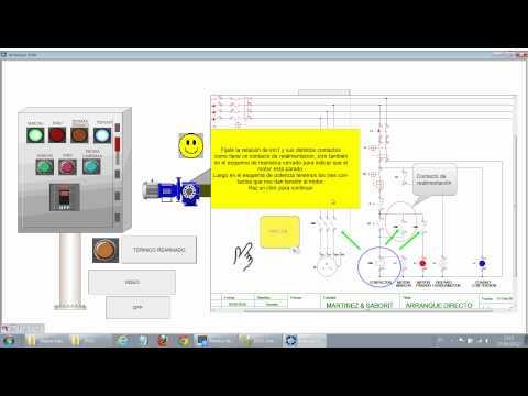 Cuadro eléctrico y esquema con Cade Simu y CX-Supervisor