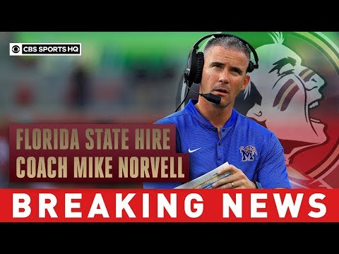 Florida State hires coach Mike Norvell from Memphis | Breaking News | CBS Sports HQ