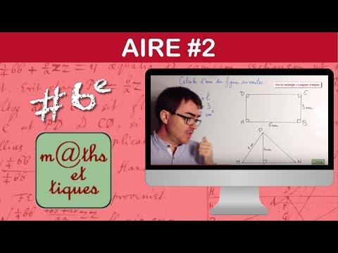 Download Calculer l'aire d'une figure - Sixième