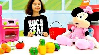 Фруктовый салат для Минни Маус. Идеи для кукол - Мультики для девочек