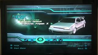 Midnight Club II (PS2) - All Cars