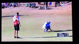 Dustin Johnson Three Putt Choke at 2015 U.S. Open