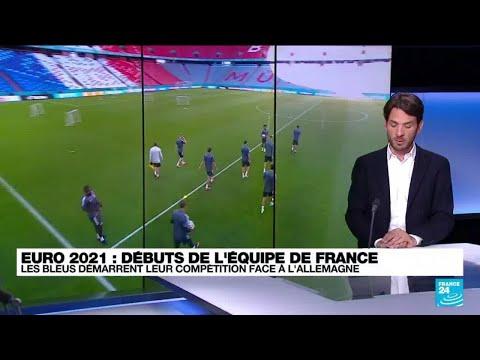 Euro 2021 : les Bleus démarrent leur compétition face à l'Allemagne