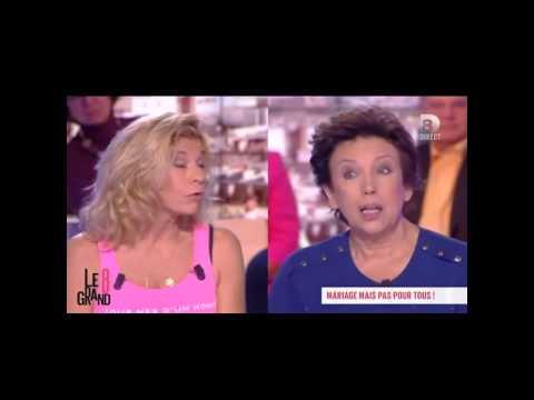 Mariage gay, Roselyne Bachelot atomise Frigide Barjot !