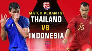 [AFF SUZUKI CUP 2018] Thailand Vs Indonesia - Full HD -17/11/2018