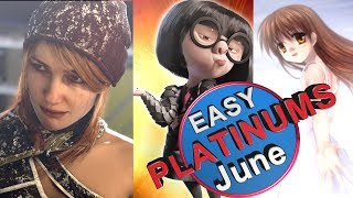 Easiest Platinum Games For PS4 in June 2018
