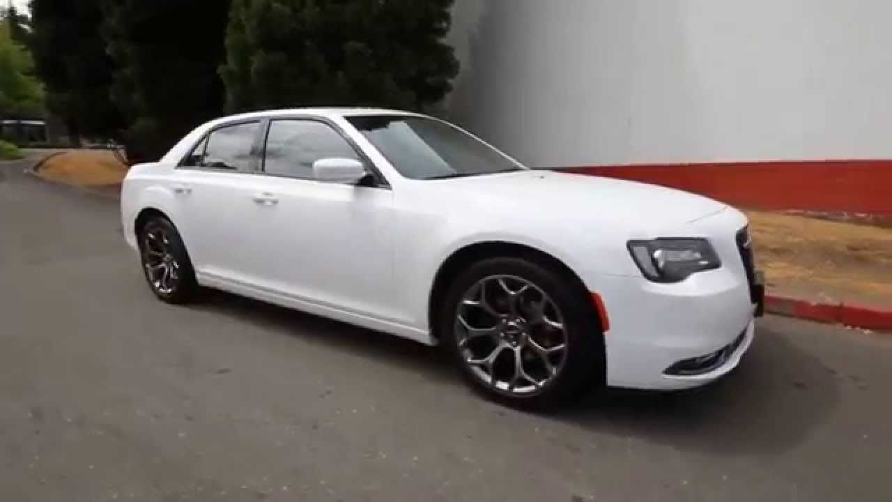 2015 chrysler 300 s white youtube. Black Bedroom Furniture Sets. Home Design Ideas