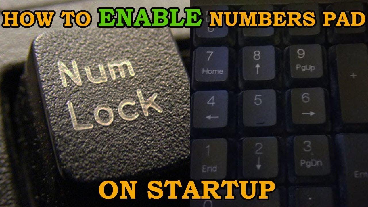 Kết quả hình ảnh cho How to Use Numlock