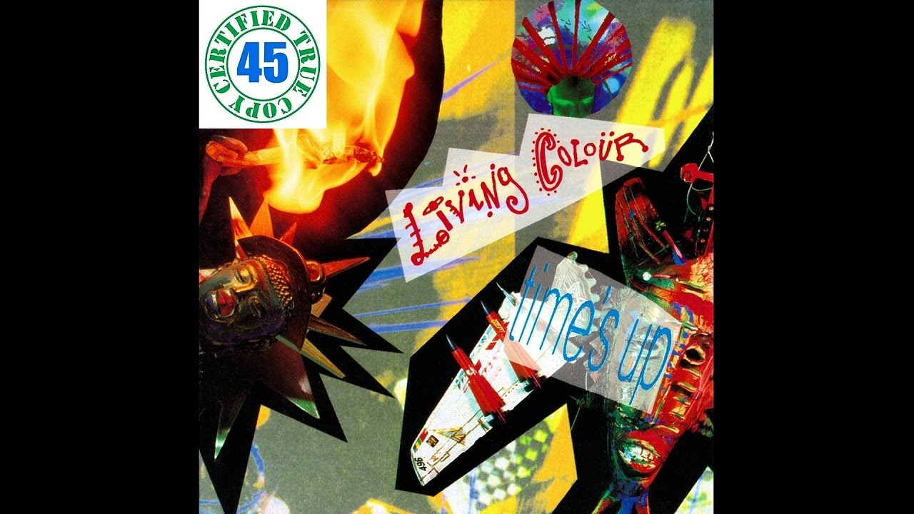 Download LIVING COLOUR - LOVE REARS ITS UGLY HEAD - Time's Up (1990) HiDef :: SOTW #57