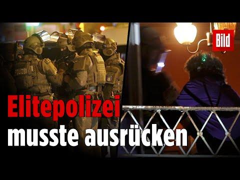 Großeinsatz in Hamburg: SEK überwältigt Randalierer in seiner Wohnung