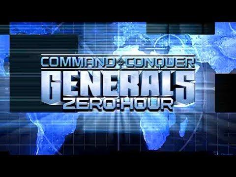 Command \u0026 Conquer Generals Zero Hour Intro HD