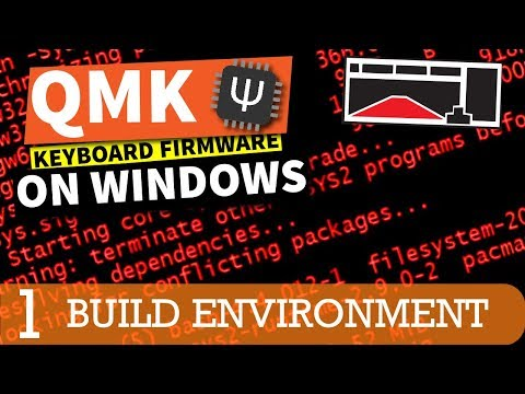 QMK Firmware Tutorial - MSYS2, and Drivers (Part 1) - YouTube