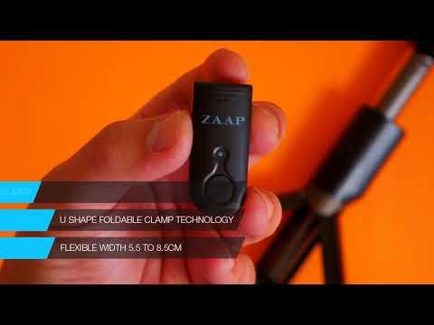 45f115544e9a37 ZAAP NUSTAR6 Aluminium Premium Bluetooth Selfie Stick with In-built Tripod  Amazon - YouTube
