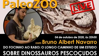 PALEOZOOBR LIVE: DO FOCINHO AO RABO - O LONGO CAMINHO DE UM ESTUDO SOBRE DINOSSAUROS PESCOÇUDOS