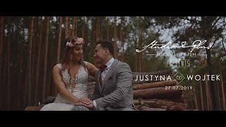 Piękny teledysk ślubny Justyna  Wojtek | Electro Boogie | Bursztynowa  Pełczyce | Event Bar Szczecin