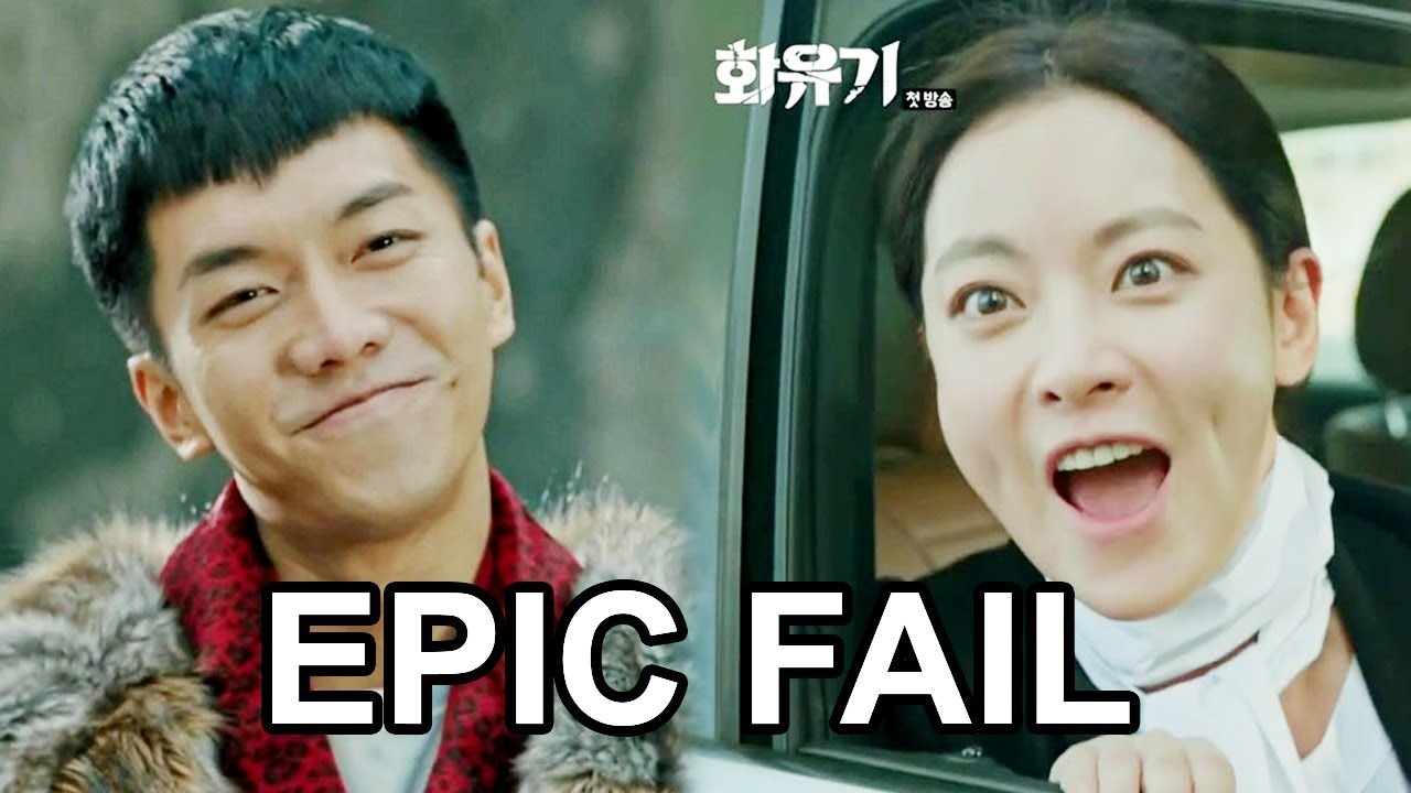 Hwayugi funny and epic fail scenes youtube hwayugi funny and epic fail scenes stopboris Images