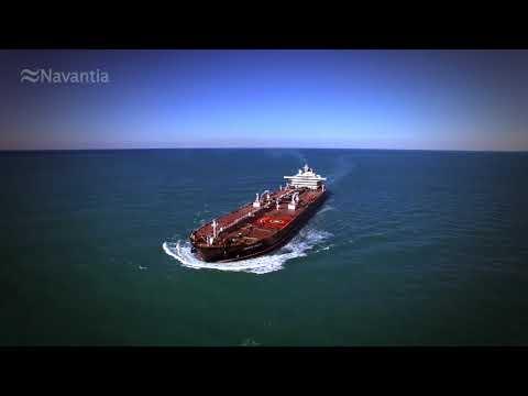 NAVANTIA Puerto Real: Pruebas de mar Petrolero SUEZMAX 'Monte Udala'