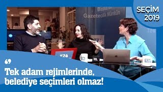 T24'TE 2019 SEÇİM ÖZEL CANLI YAYINI-LEVENT GÜLTEKİN