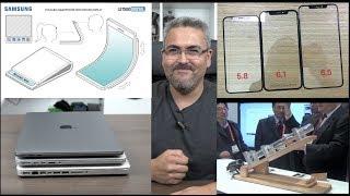 iPhone 9 y 9+ filtrado, Galaxy X filtrados, Macbook pro 2018 con problemas