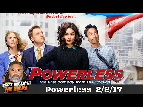 Last Night on TV - Powerless 2/2/17 NBC & DC Comics Comedy Pilot Review