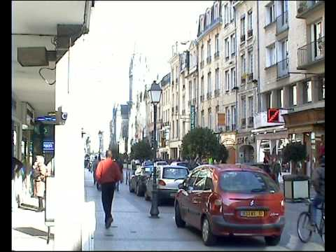 Brief stop in Caen, France