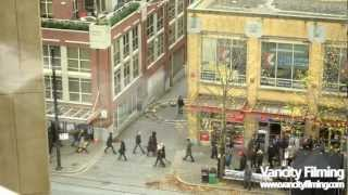 Download Video Anna Torv filming a scene for Fringe in Vancouver MP3 3GP MP4