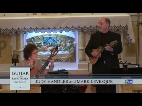 Guitar in the Sanctuary  - 002 - Judy Handler and Mark Levesque
