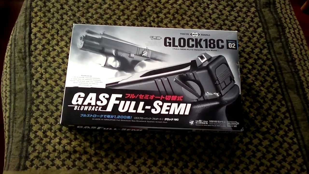 how to make a glock full auto with a paperclip