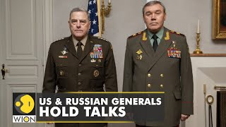 US \u0026 Russian military chiefs meet for the first time in 20 months |Latest World News | WION