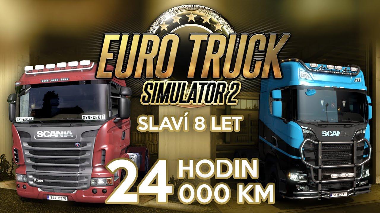 24 HODINOVÝ STREAM Z EURO TRUCK SIMULATOR 2! ANEB 24 000 KM ZA 24 HODIN! | Pozvánka