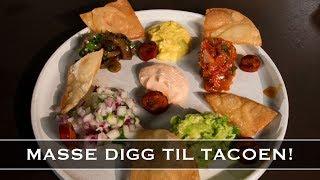 Taco! Masse digg tilbehør!