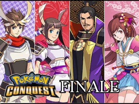 Pokemon Conquest Walkthrough #031: Link with Arceus and Final Battle Against Nobunaga (FINALE)