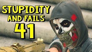Repeat youtube video Rainbow Six Siege | Stupidity and Fails 41