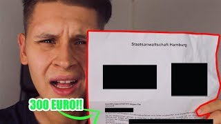 300€ Geldstrafe😰💰 - Von der Polizei erwischt worden🚓(Storytime)
