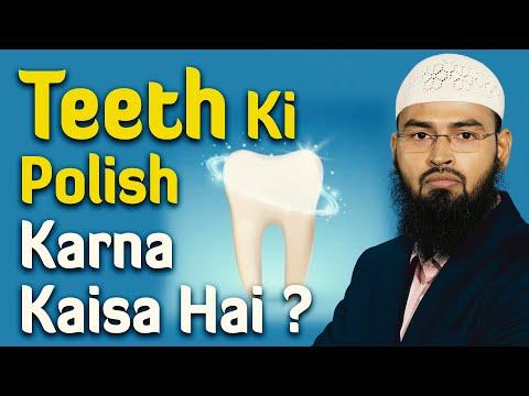 Teeth Danto Me Cap Ya Clips Lagana Kya Sahih Hai By Adv. Faiz Syed