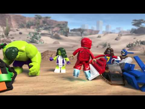 Stark Expo Build Off - LEGO Marvel Super Heroes - Mini Movie