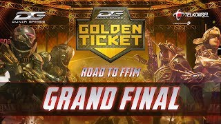 Dunia Games Golden Ticket Grand Final : Road to FFIM  2019