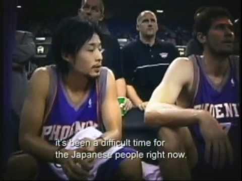 Basketball Player Brings Hope to Tsunami Victims