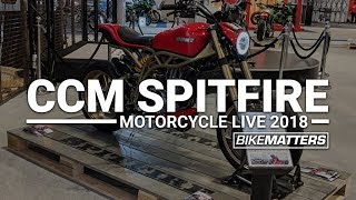 2019 CCM Spitfire + Foggy Edition Spitfire | Motorcycle Live 2018