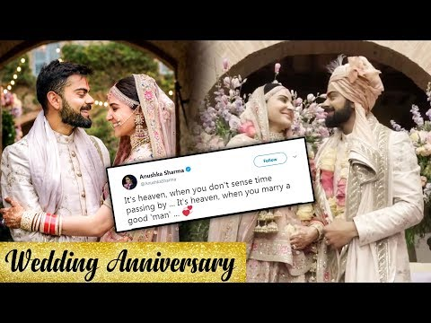 Anushka Sharma Posts A SWEET VIDEO For Virat Kohli On Their Marriage Anniversary