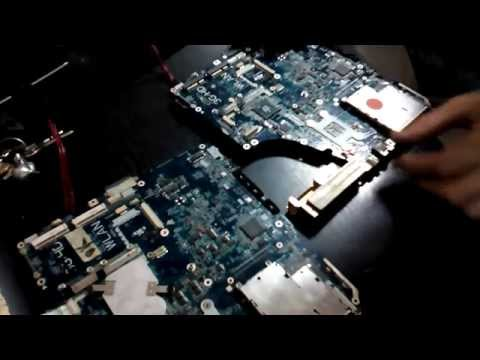 Take Apart Toshiba A215, A200, A210  - Toshiba Satellite Disassembly
