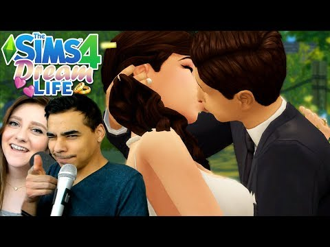 GETTING MARRIED ??? // The Sims 4 Dream Life ???? Ep. 3 thumbnail