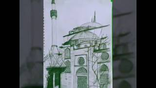 Architectural drawing || Hagia-Sophia||NATA &JEE (B.ARCH) PREPARATION SKETCHES|