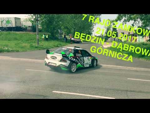 7 Rajd Zamkowy Będzin - Dąbrowa Górnicza 21.05.2017