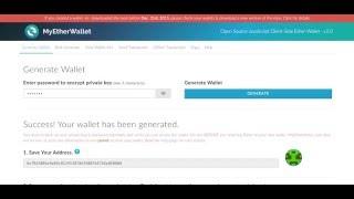 Регистрация кошелька Ethereum!!! Пополнение кошелька через обменники Ethereum!!!